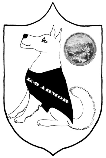 K-9 Armor logo. Click to open large image