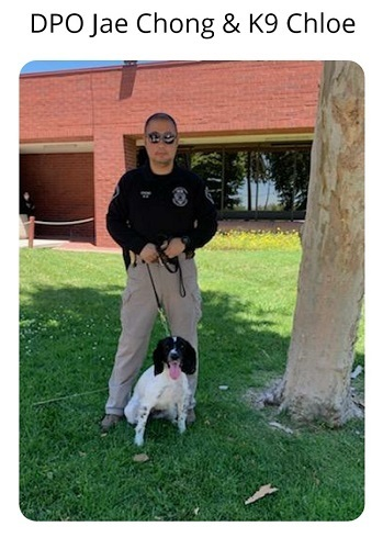Donate to protect LA Probation Officer Chong and K9 Chloe