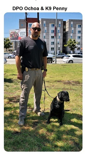 Donate to protect LA Probation Officer Ochoa and K9 Penny