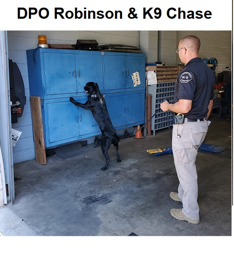 Donate to protect LA Probation Officer Robinson and K9 Chase