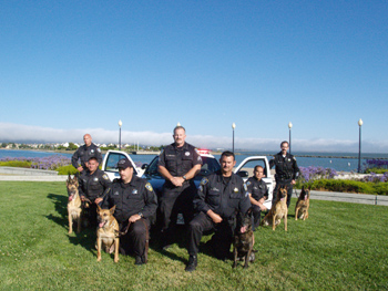 Click for large image Richmond PD Canine Unit 2010