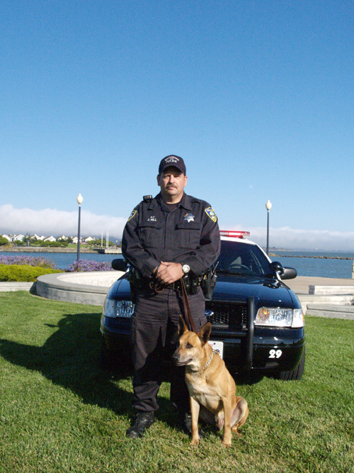 Richmond PD Officer Hill and K9 Nero