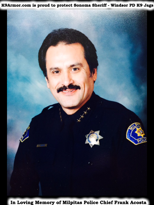 Milpitas Police Chief Frank Acosta