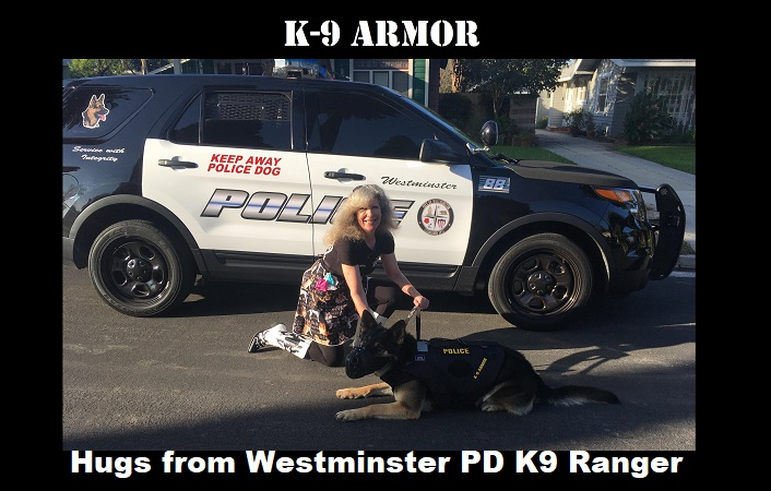 Thanks to donations to protect Westminster PD K9 Ranger